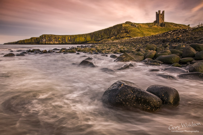 Dunstanburgh Rocks. Fine Art Landscape Photography by Gary Waidson