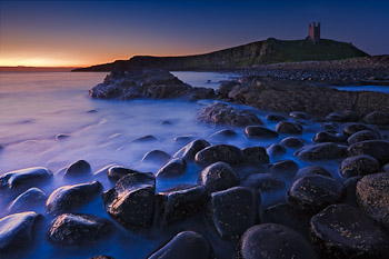 Dunstanburgh Castle at Low Tide