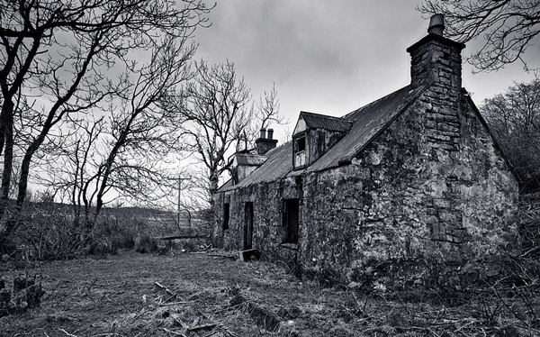Elgol Deserted Cottage