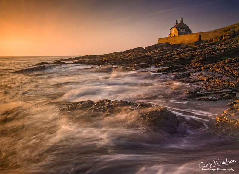 Howick Sunrise. Fine Art Landscape Photography by Gary Waidson