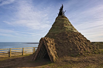 Mesolithic House. Fine Art Landscape Photography by Gary Waidson