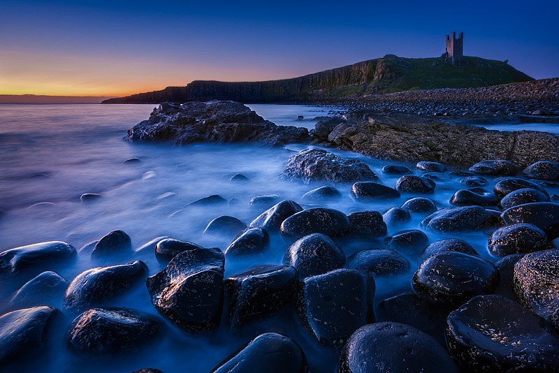Dunstanburgh at Low Tide. Fine Art Landscape Photography by Gary Waidson